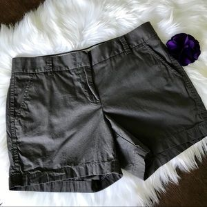 2/$30 J. Crew Dark Gray Broken in Chino Shorts